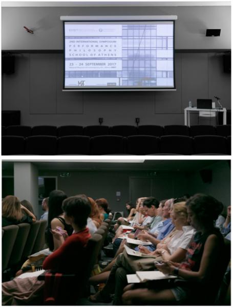 2nd International Symposium Performance Philosophy School of Athens, Eθνικό Μουσείο Σύγχρονης Τέχνης (ΕΜΣΤ), Αθήνα, 2017