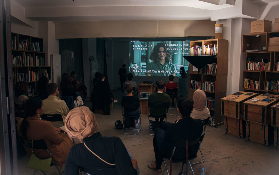 TAKE XII with Esra Karakaya and Nilgün Akıncı, the 12th session of the film series RESIDING IN THE BORDERLANDS at SAVVY Contemporary, 2020