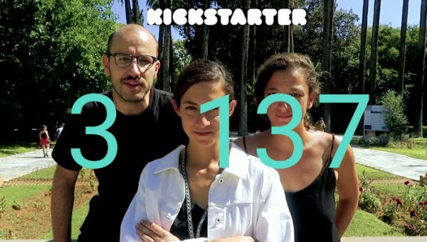 Kickstarter in Greece: Patton Hindle, Evita Tsokanta & 3 137