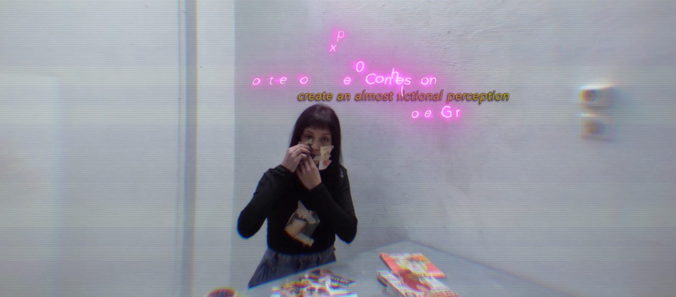 She and the Reader, video still, 2020