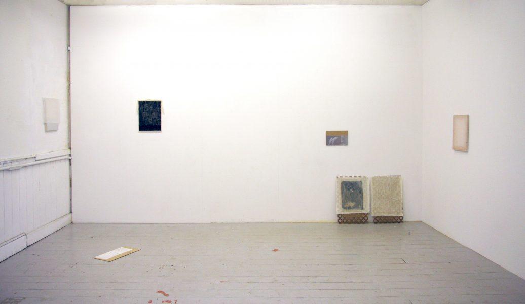 Άποψη της έκθεσης Ian Kiaer's Studio, Bow Arts Center London, 2017