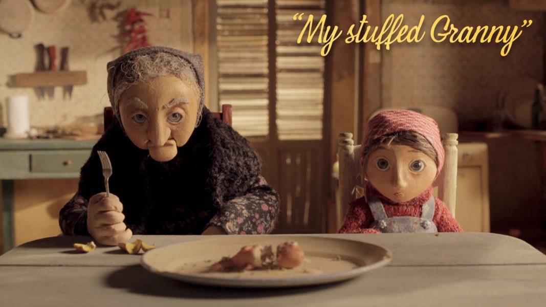 My Stuffed Granny, 2015, 10'